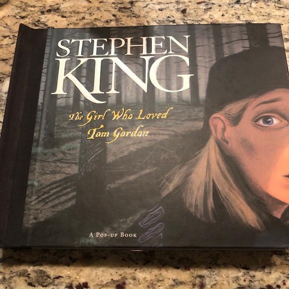 Stephen King The Girl Who Loved Tom Gordon pop up
